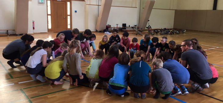 Luftakrobatik wächst zum Zirkus-Workshop