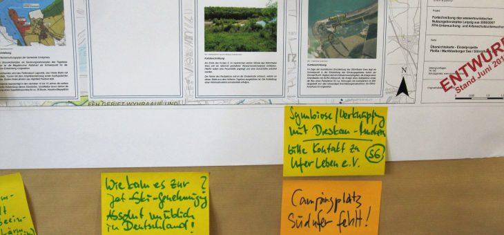 Fortschreibung des Wassertouristischen Nutzungskonzeptes für das Leipziger Neuseenland WTNK