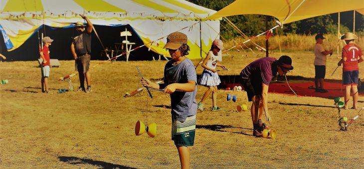 Herbstferien Zirkusworkshops von UferLeben und Zirkomania