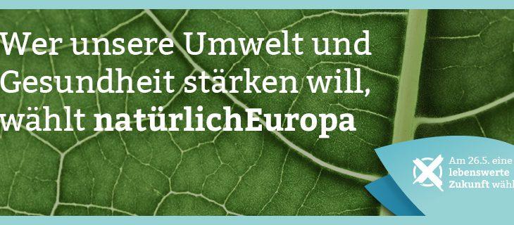 Für Europas Natur wählen