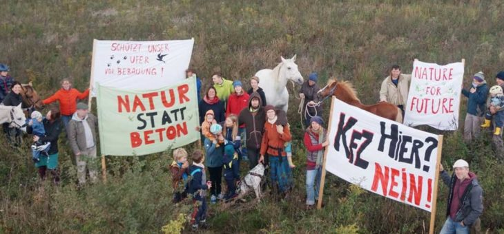 Petition Andere Wege am Störmthaler See