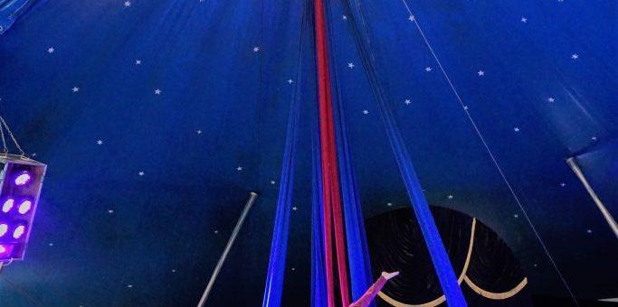 Abends im Zelt